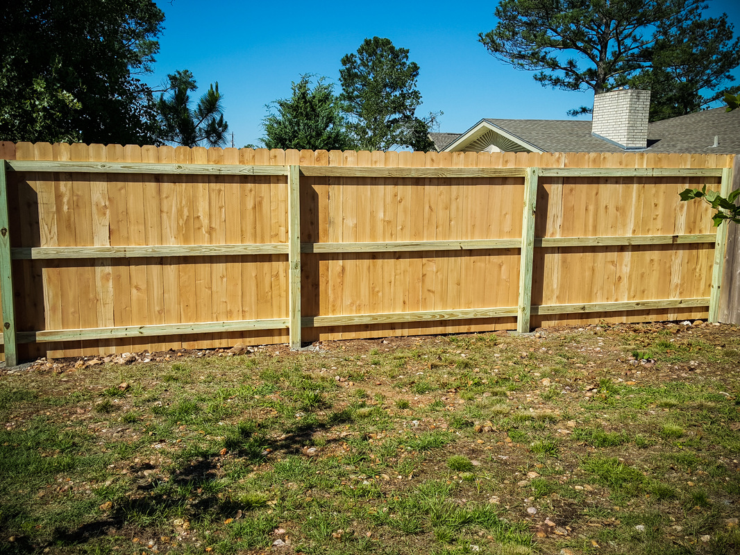 Wood Privacy Fences Kistler Fence
